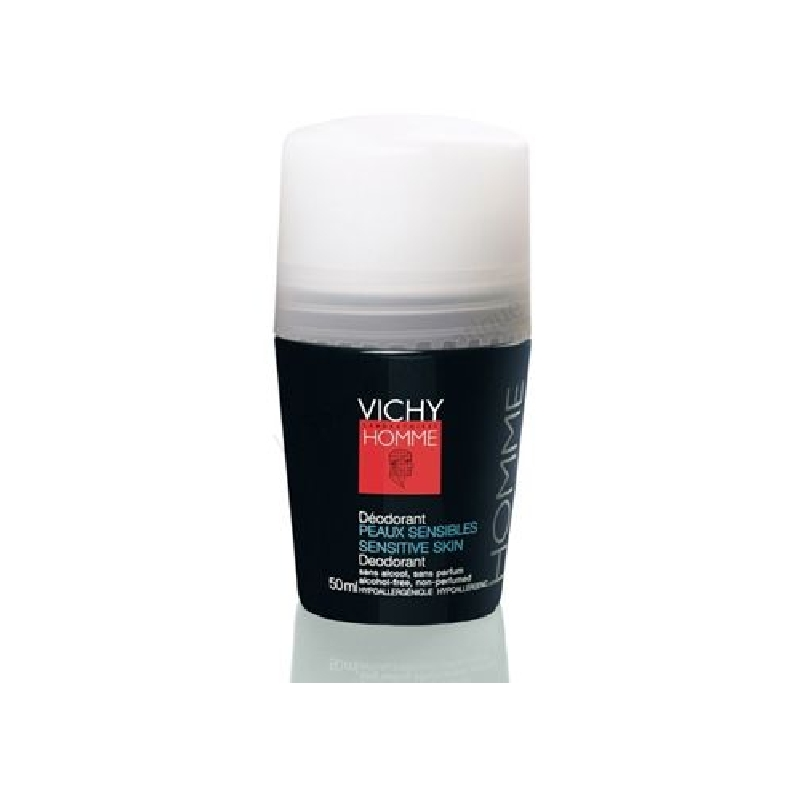 Achetez VICHY HOMME Déodorant 48H anti-irritations Bille de 50ml